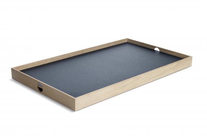 Mørkeblå og mosgrøn Flip Tray, stor bakke, the_oak_men
