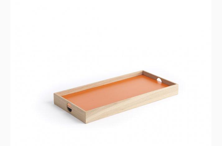 Orange og grå Flip Tray, lille bakke, the_oak_men