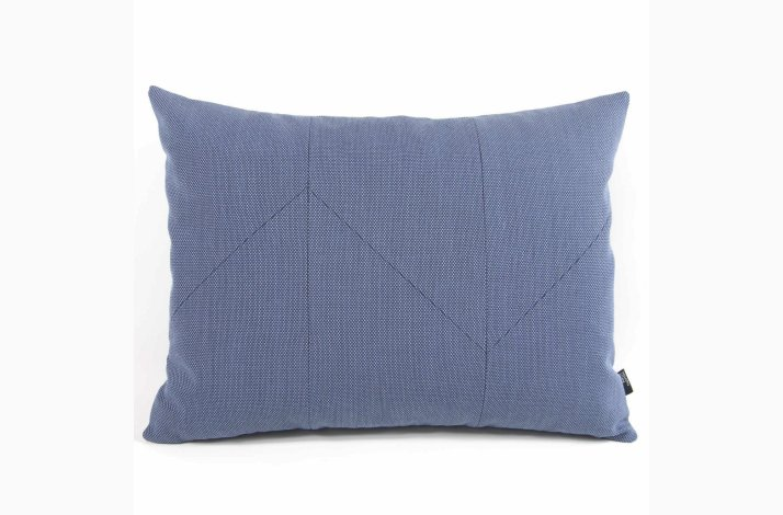 Gaia Pale Blue 60x45 - Blå pude