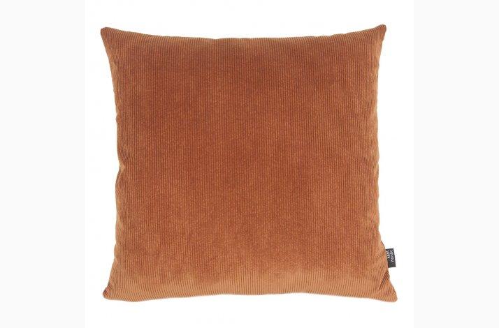 Pude Saga Copper 50x50 - Kobber-farvet Fløjl