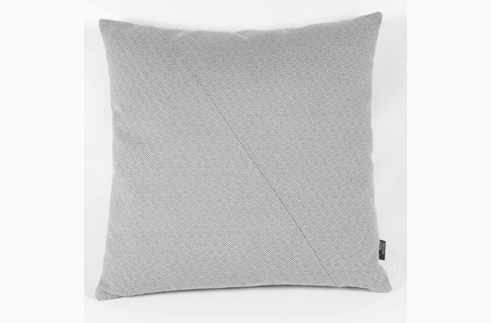Pude Thea Lux Grey 45x45 - grå