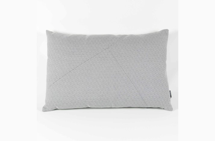 Pude Thea Lux Grey 60x40 - grå