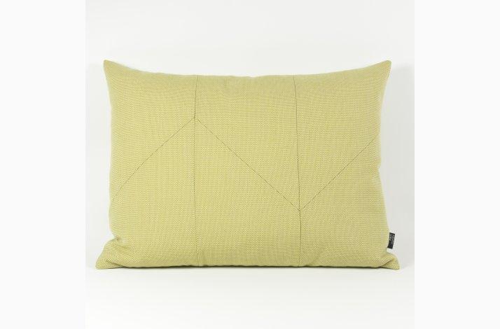 Gaia Yellow 60x45 - Gul pude